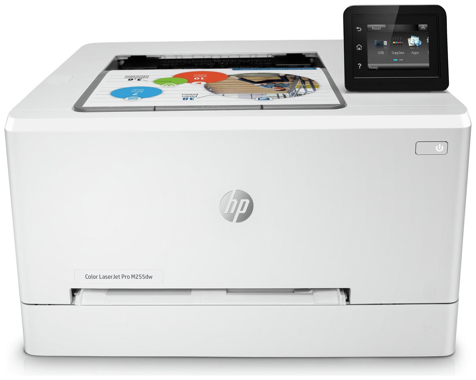 HP LaserJet M255DW Wireless Colour Laser Printer