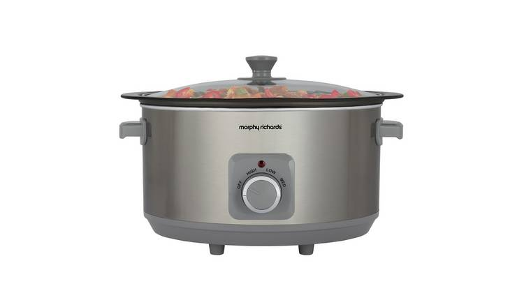 Morphy Richards 6.5L Sear & Stew Slow Cooker - S/Steel