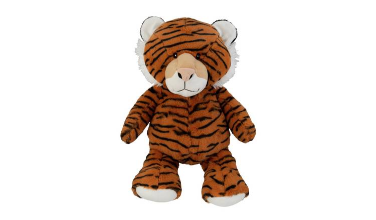 14inch Safari Tiger Soft Toy