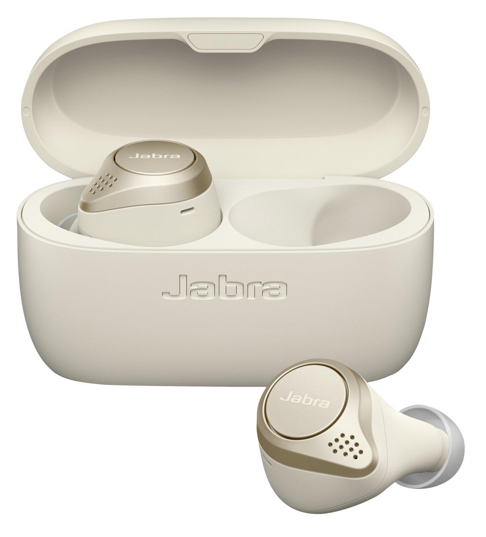 Jabra Elite 75T In-Ear True Wireless Earbuds Gold Beige