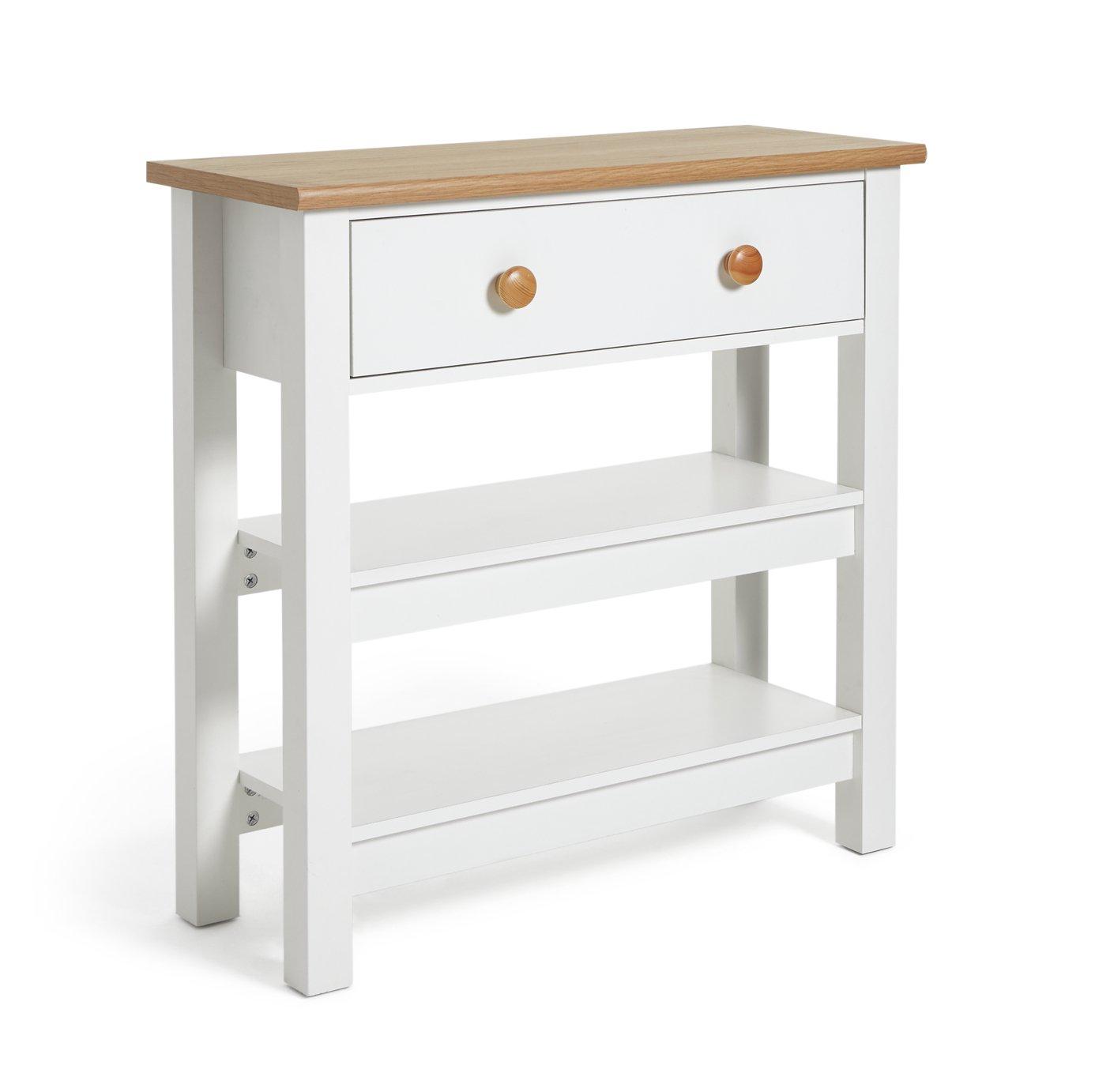 Argos Home Winchester Console Table - Cream Two Tone