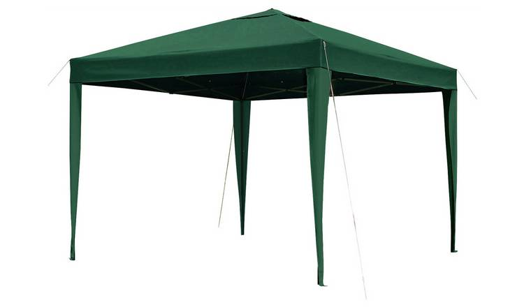 sports shoes aac3e 1fccc Buy Argos Home 3m x 3m Pop up Garden Gazebo - Green   Gazebos, marquees and  awnings   Argos