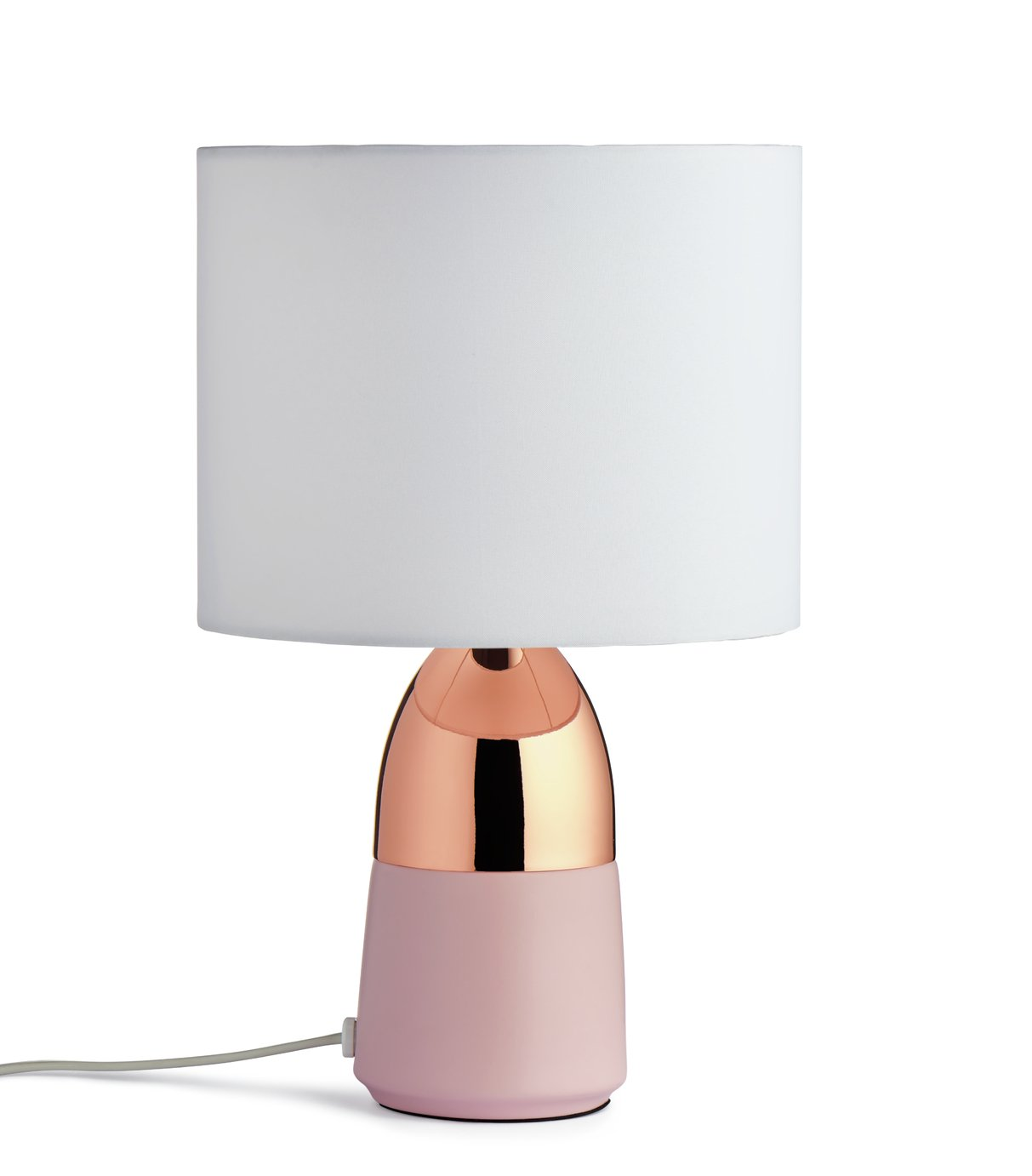'Home Duno Touch Table Lamp - Pink & Copper