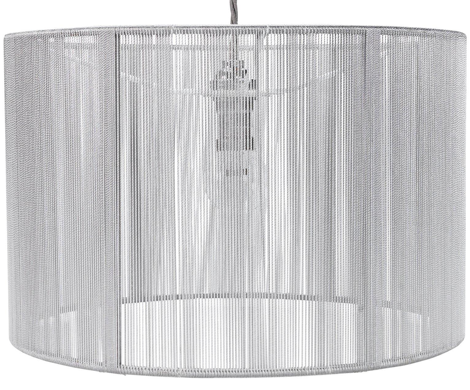 Argos Home Sutton String Lampshade - Grey