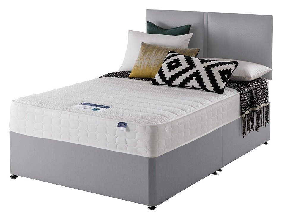 Silentnight Hatfield Memory Divan Bed - Double
