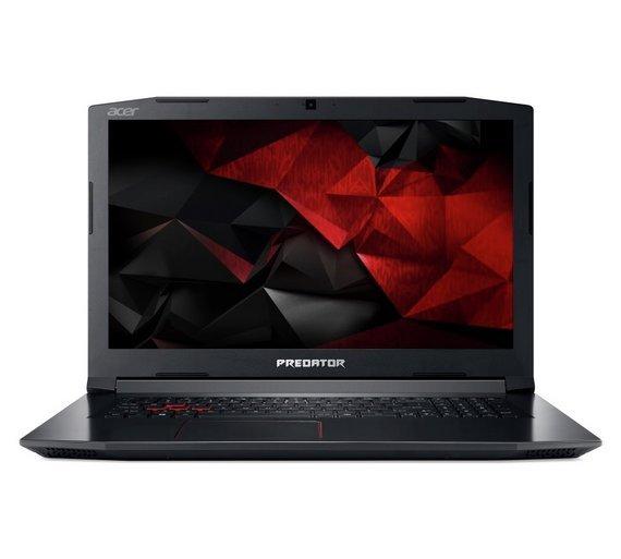 Acer Predator Helios i5 17.3In 16GB 128GB GTX1050Ti Gaming Laptop