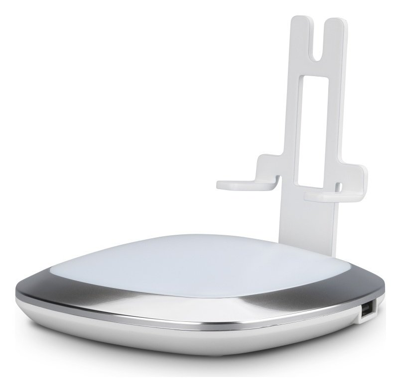 Image of Flexson Sonos Play:1 Illuminated Charging Stand - White
