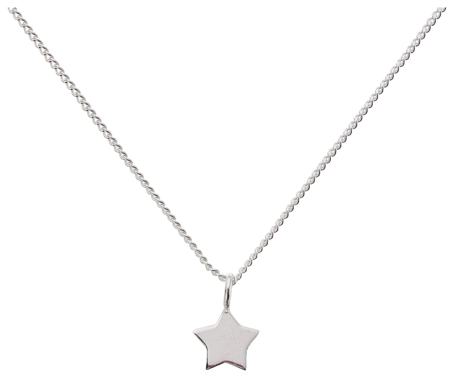 Image of Revere Kid's Sterling Silver Star Pendant
