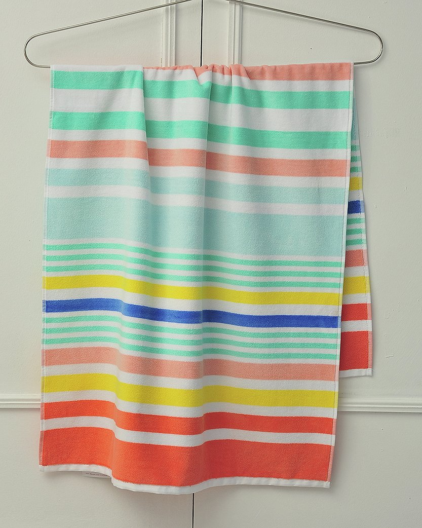 Sainsbury's Home Bright Beach Towel - Multi Stripe