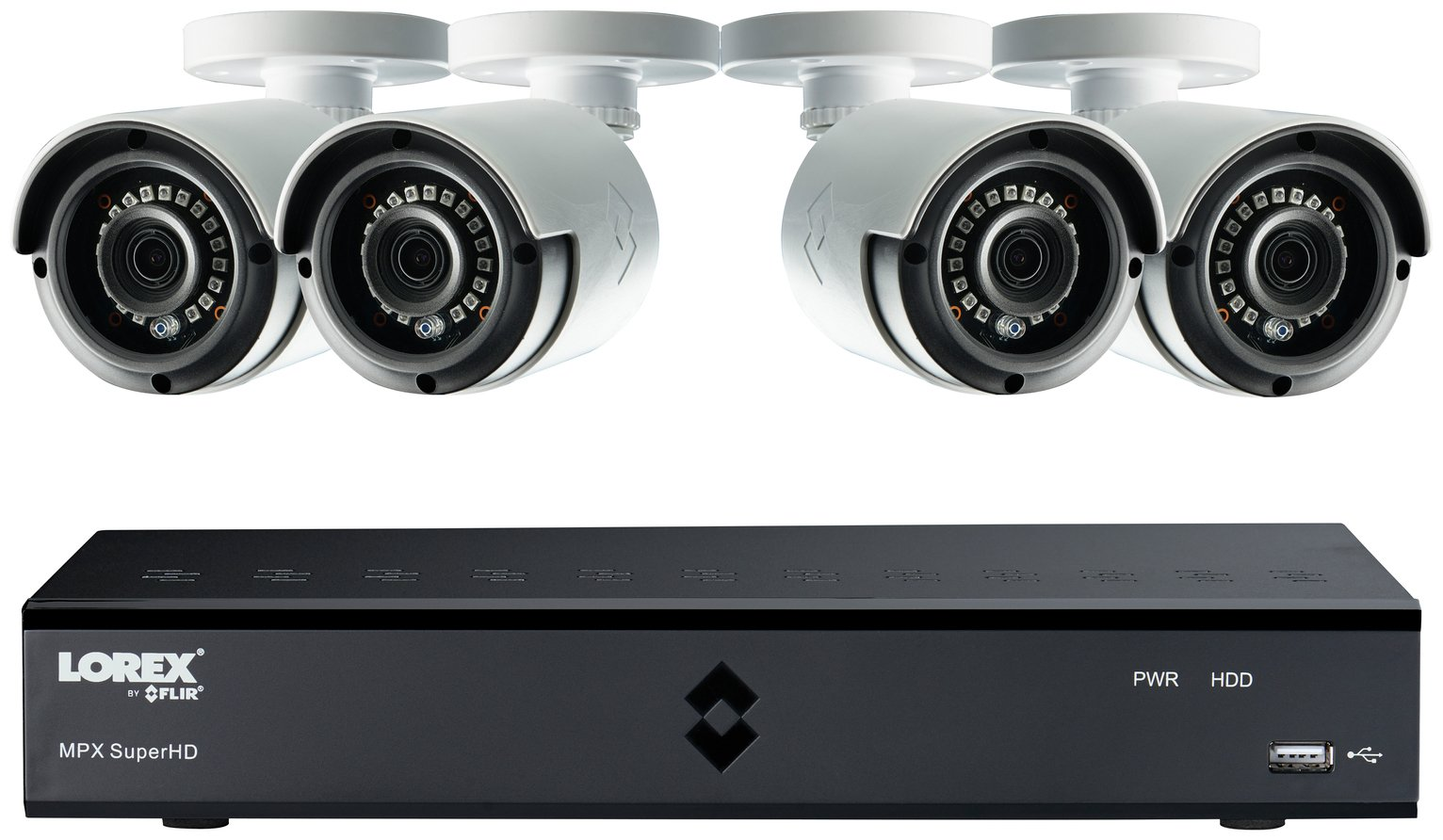 Image of Lorex 8 Channel 4MP 2TB DVR and Camera CCTV