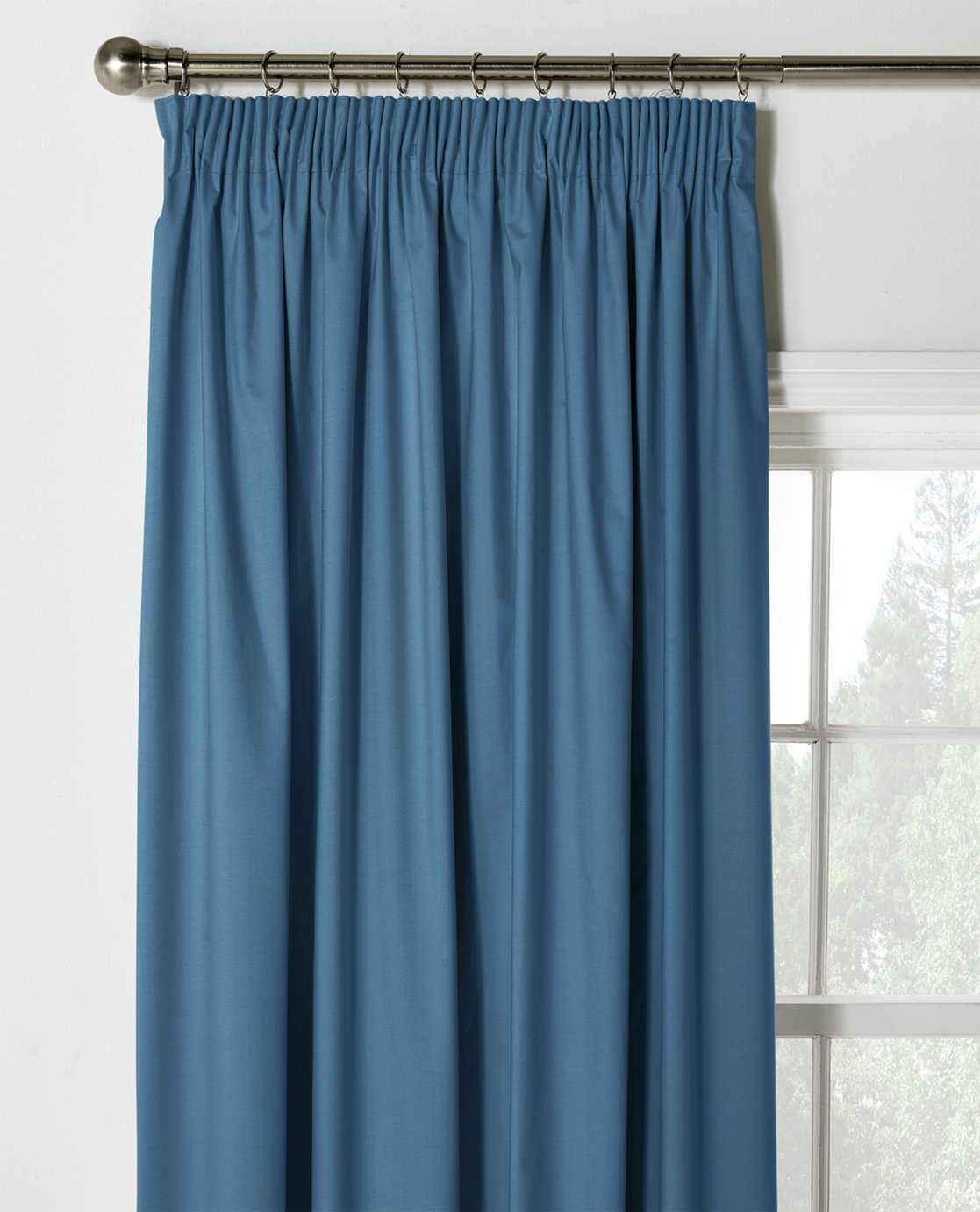 ColourMatch Thermal Blackout Curtains - 117x183cm - Navy