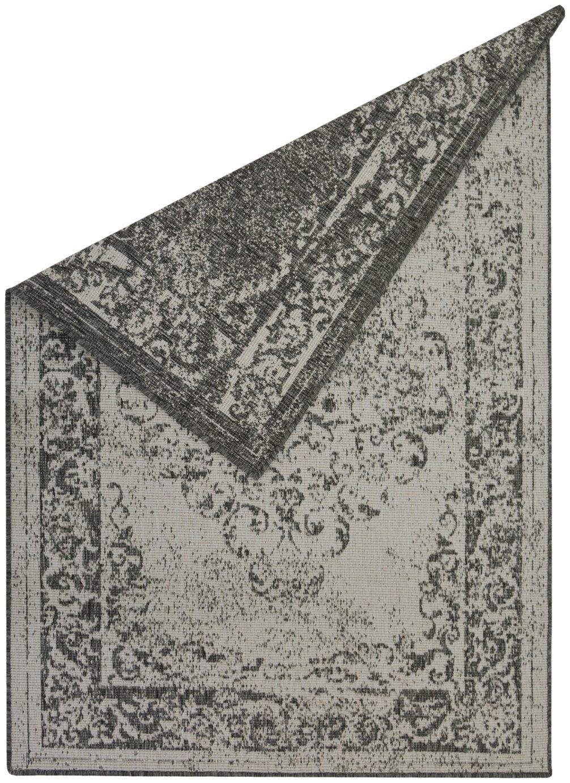 Antwerp Medallion Rug - 120x170cm - Silver