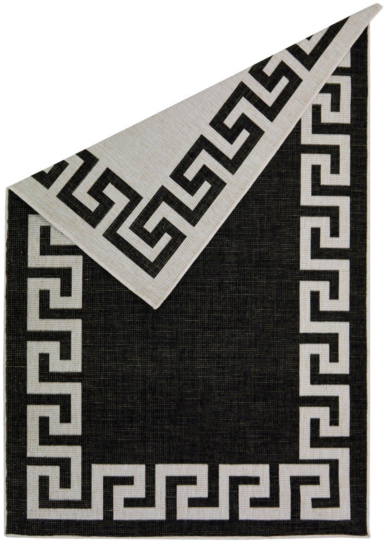 Antwerp Greek Key Rug - 160x230cm - Black