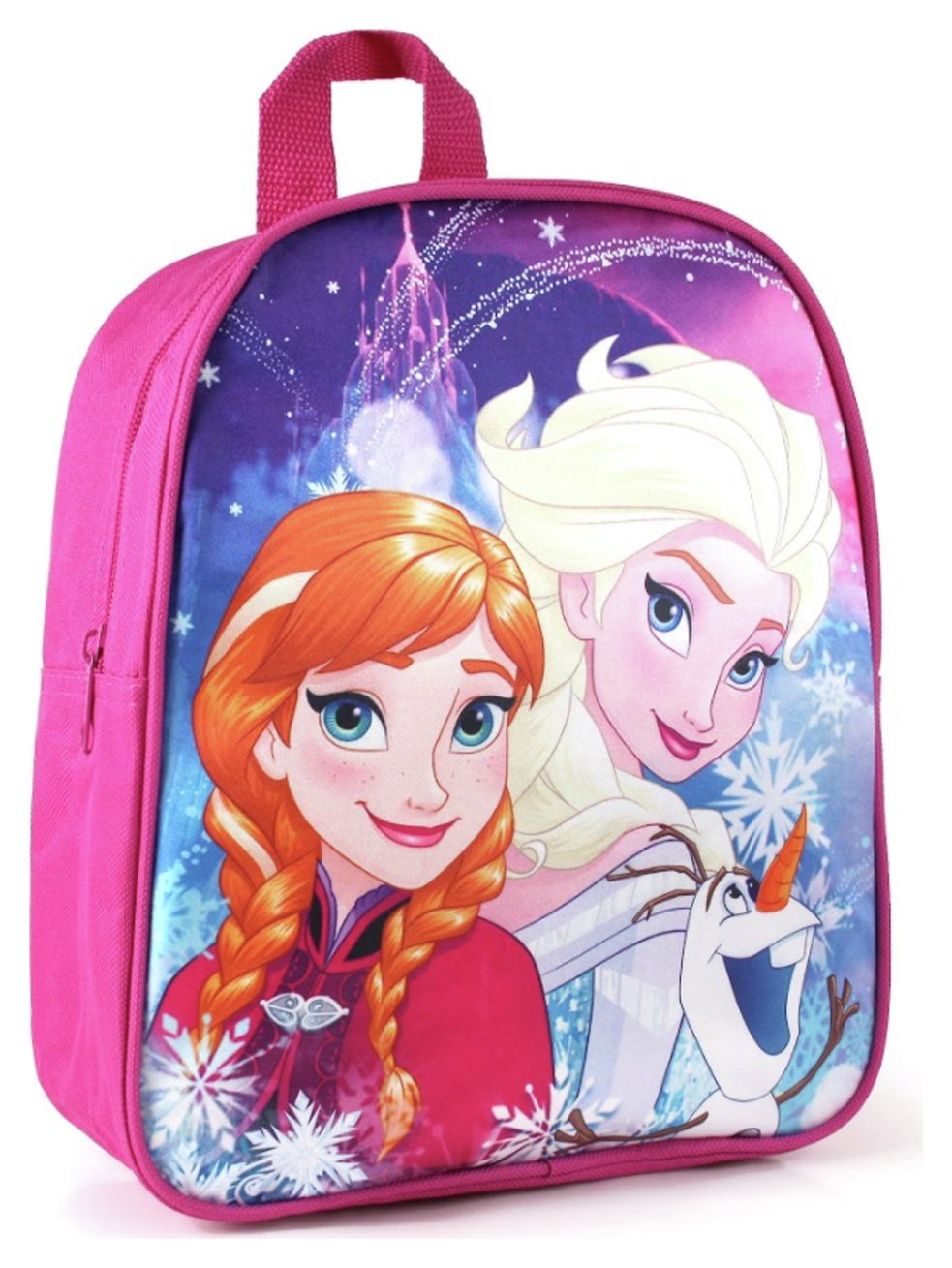 Disney Frozen Sisters and Olaf Backpack - Pink