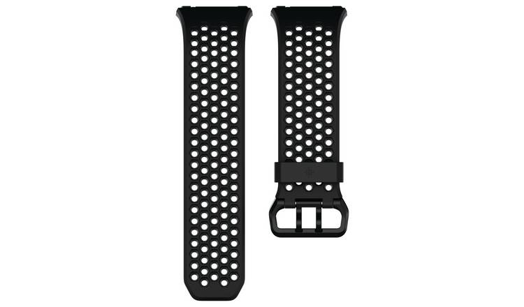 Fitbit Ionic Black & Grey Accessory Sport Band - Large
