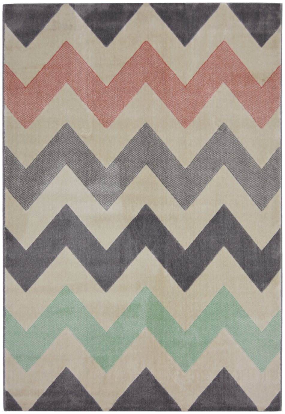 Creation Chevron Rug - 160x230cm - Multicoloured