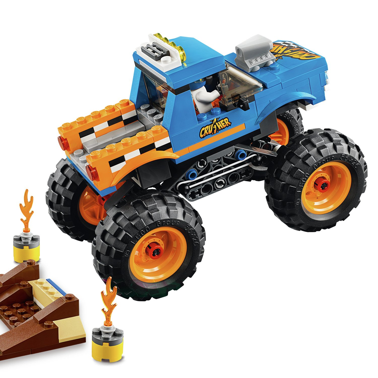 LEGO City Vehicles Monster Truck Toy Reviews