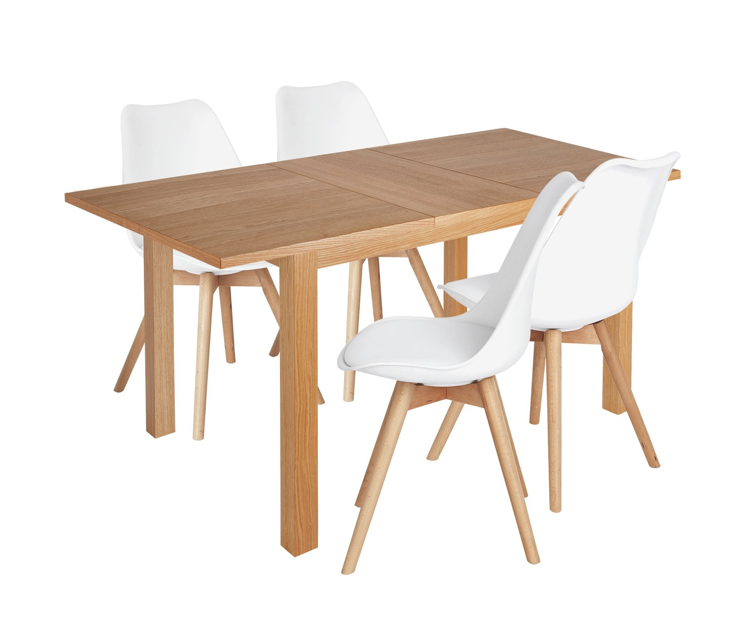 Collection Clifton Extendable Table Amp 4 Chairs Cream Damsk