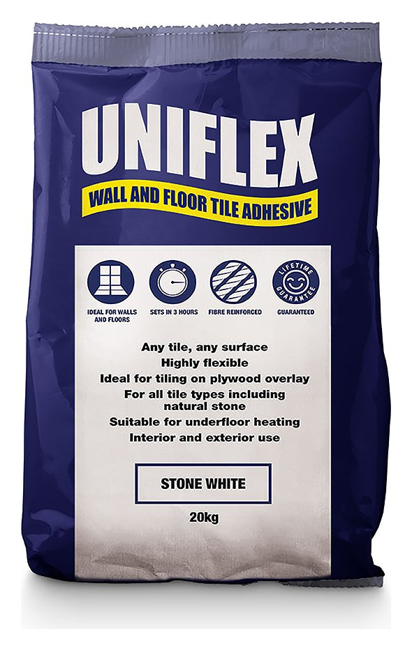 Toolshed Tiling Accessories Uniflex Tile Adhesive - 20kg