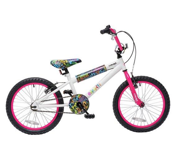 Buy Concept 9.5 Inch Kids BMX Bike - Graffiti   BMX bikes   Argos