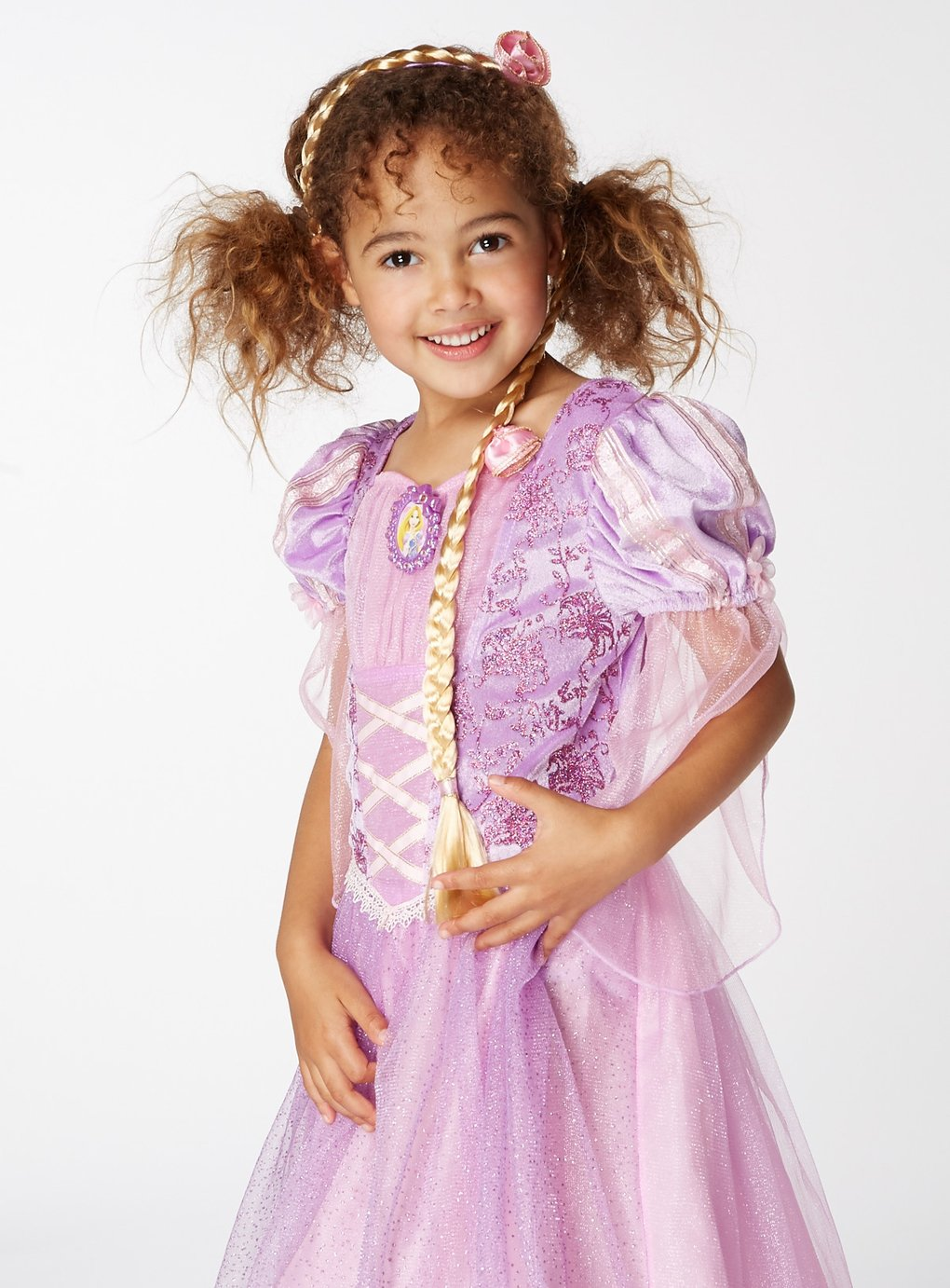 Disney Princess Rapunzel Fancy Dress Costume - 3-4 Years
