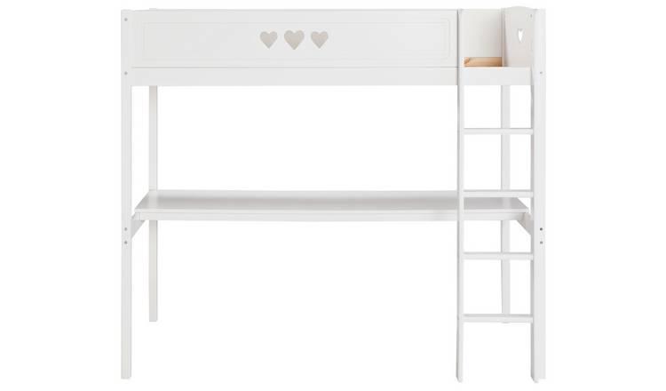 e32b4b7e3f3 Buy Argos Home Mia White High Sleeper Bed Frame