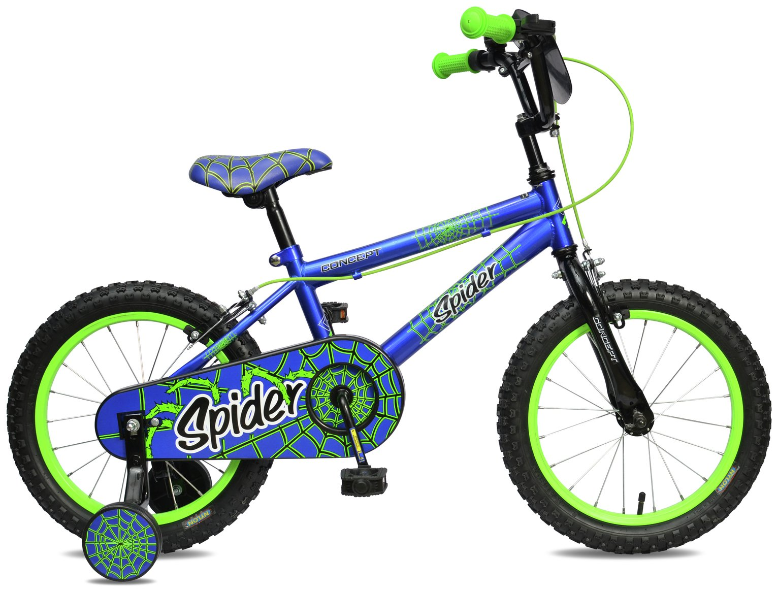 Image of Concept 9 Inch Kids Bike - Spider