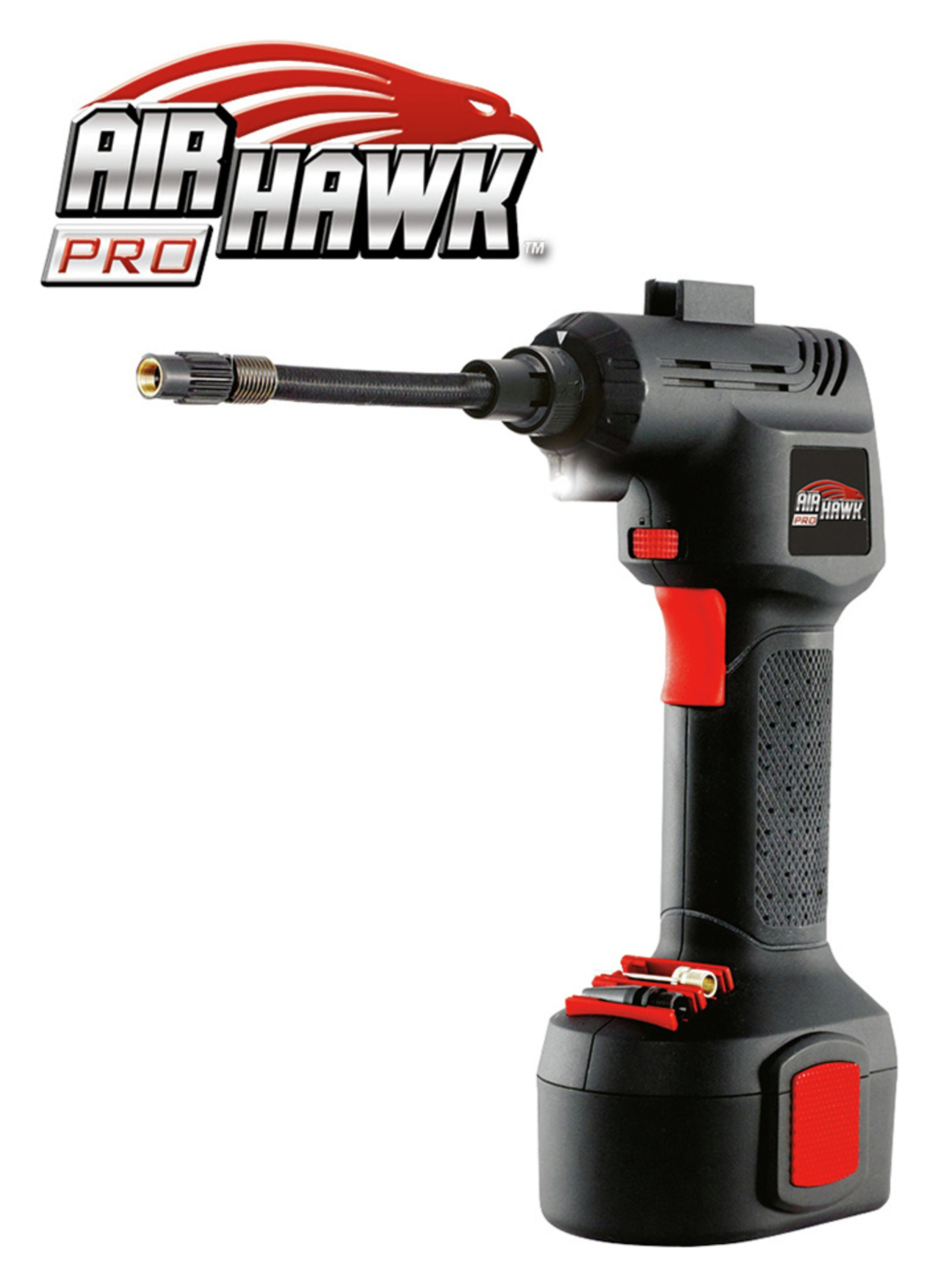 Image of Air Hawk Pro Cordless Rechargeable Tyre Inflator