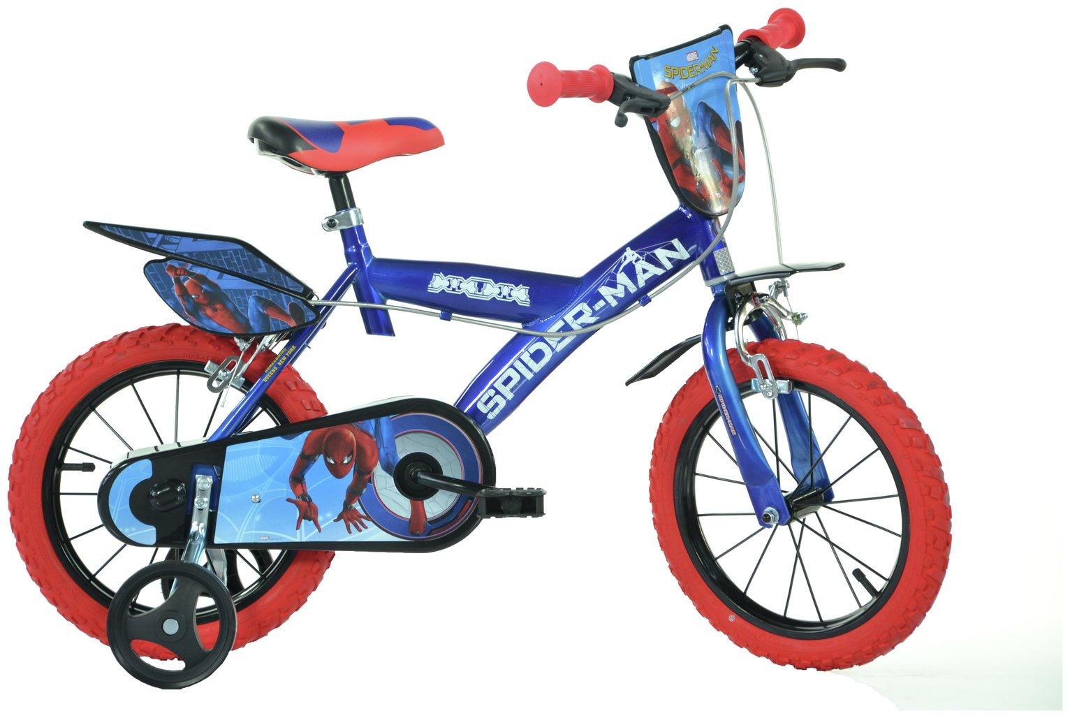 Dino Bikes Spider-Man Homecoming 14 Inch Kids Bike