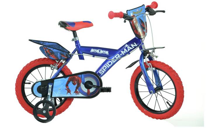 Buy Dino Bikes Spider Man Homecoming 14 Inch Kids Bike Kids