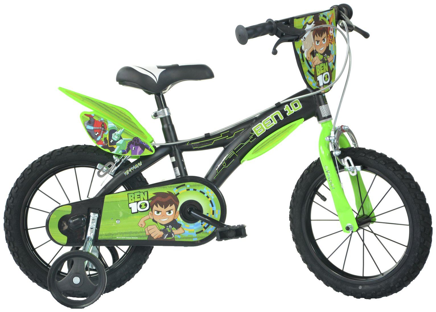 Image of Dino Bikes Ben 10 14 inch Kids Bike