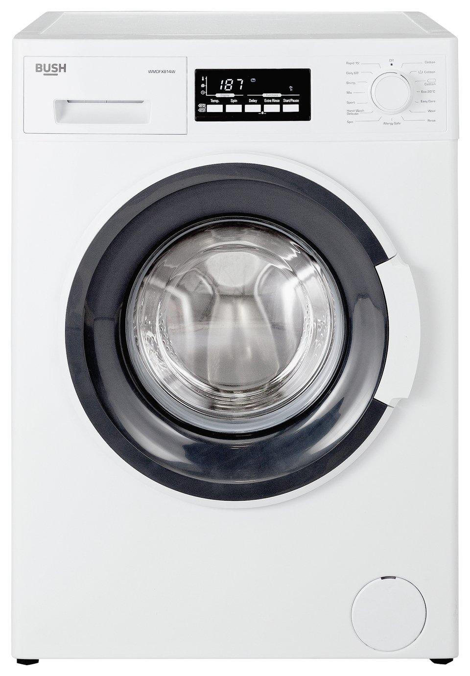 'Bush Wmdfx814w 8kg Washing Machine - White