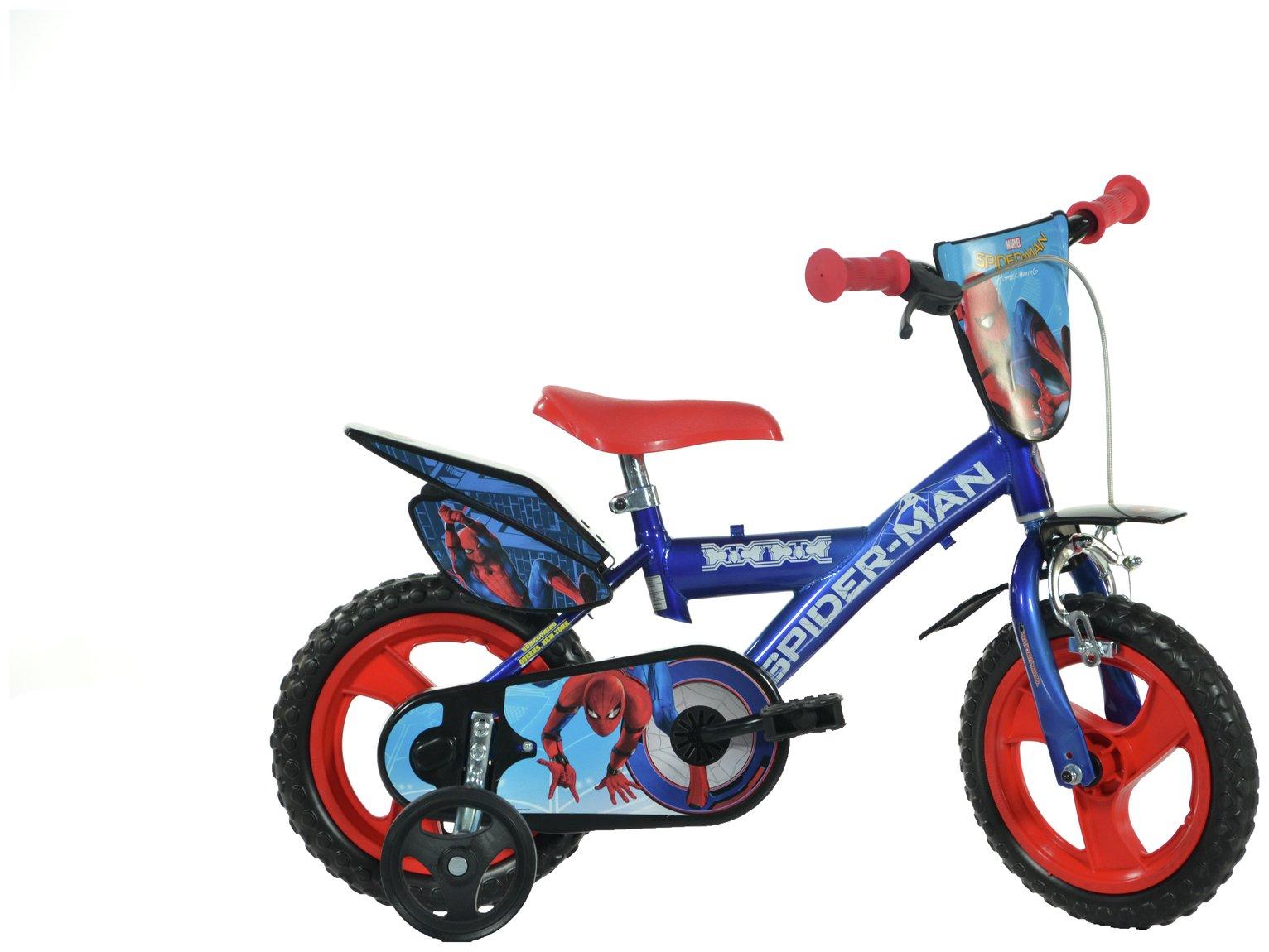 Dino Bikes Spiderman Homecoming 12 Inch Kids Bike 7648991 Argos