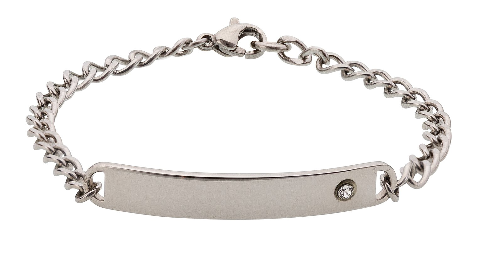 Revere Kid's Stainless Steel ID Bracelet