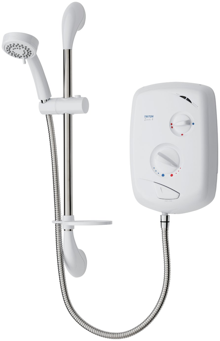 Triton Zante 4 8.5kW Electric Shower - White