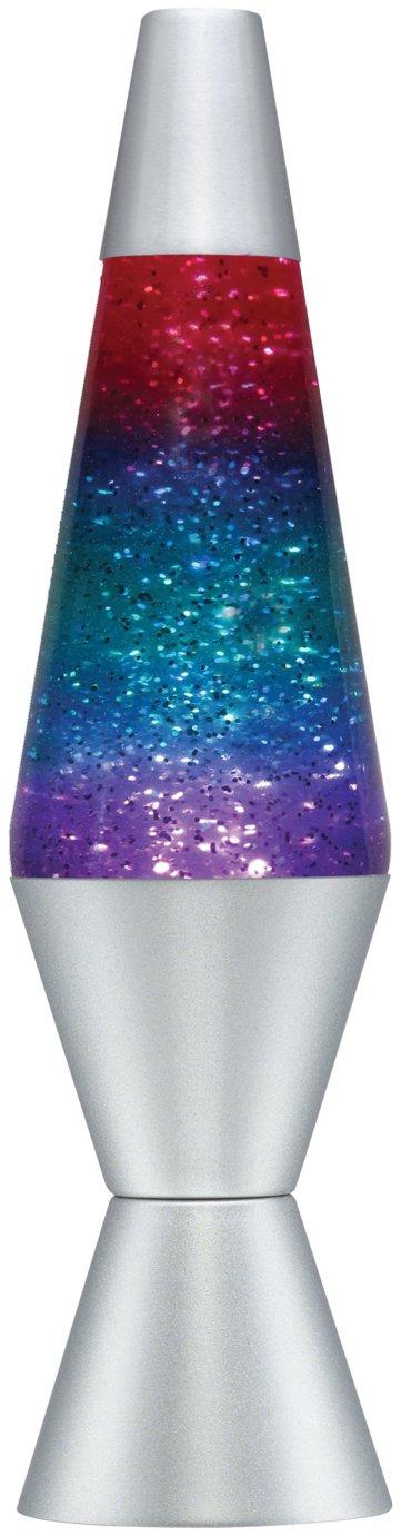 Lava Lite Tricoloured Glitter Lava Lamp