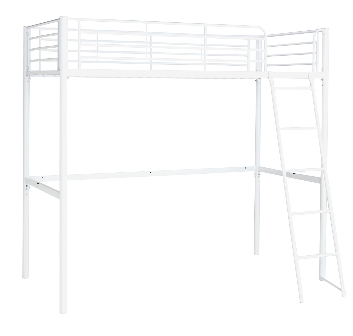 Argos Home Riley White High Sleeper Bed Frame