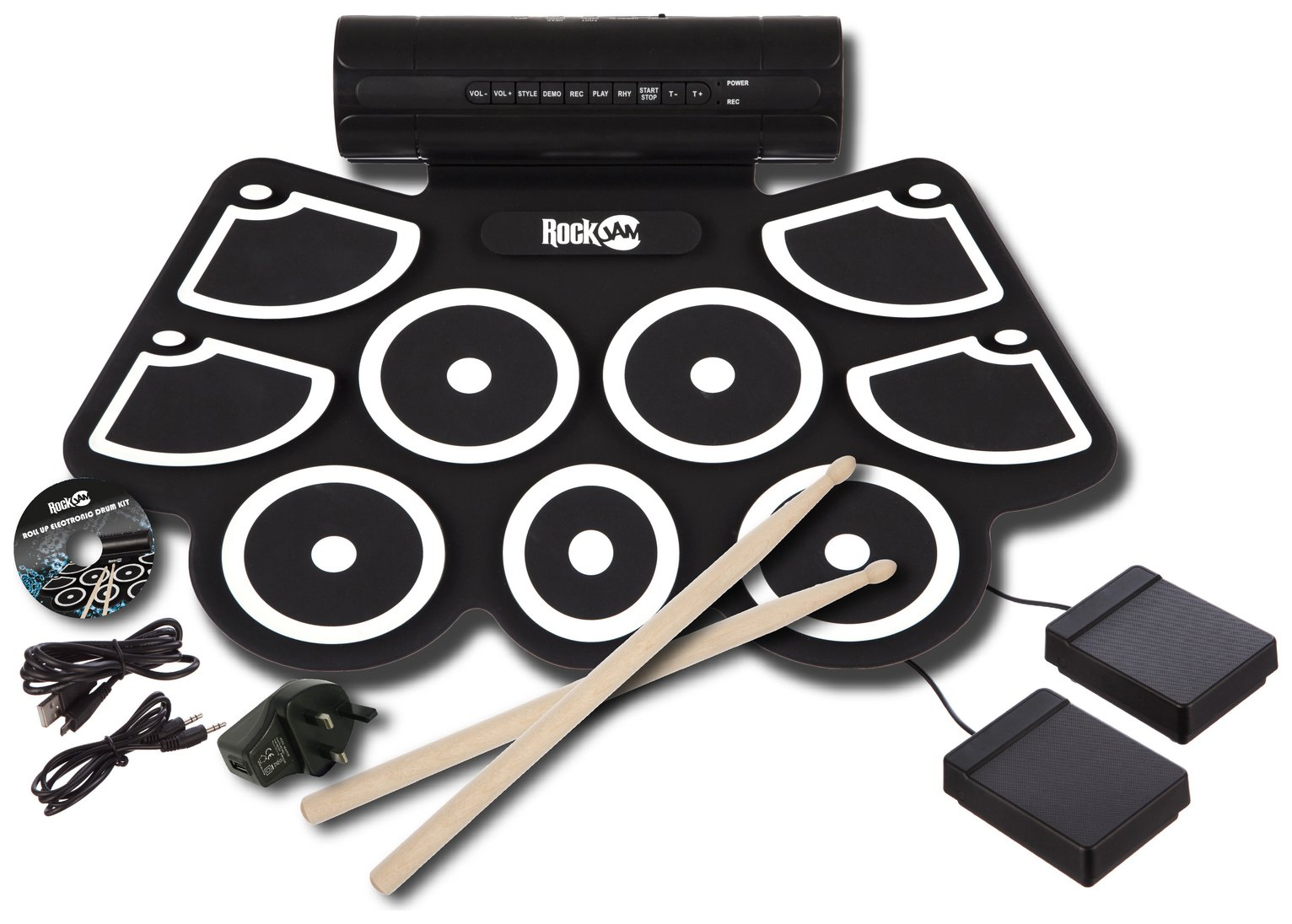RockJam Rollup Drum Kit