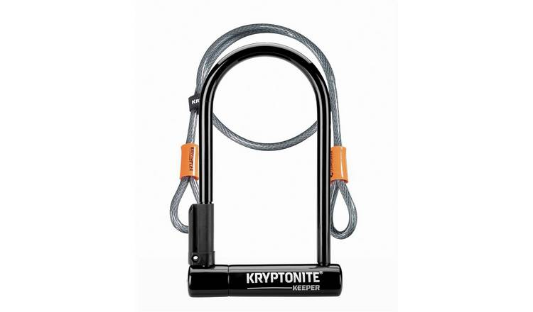 Kryptonite Keeper Bike Lock with Flex Cable - 1.2m