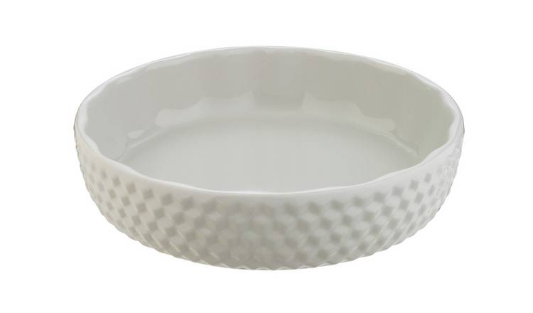 Habitat Ceramic Stacking Flan Dish - Large