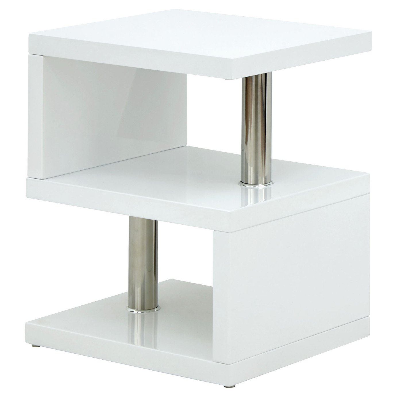 Polar Side Table - Gloss White