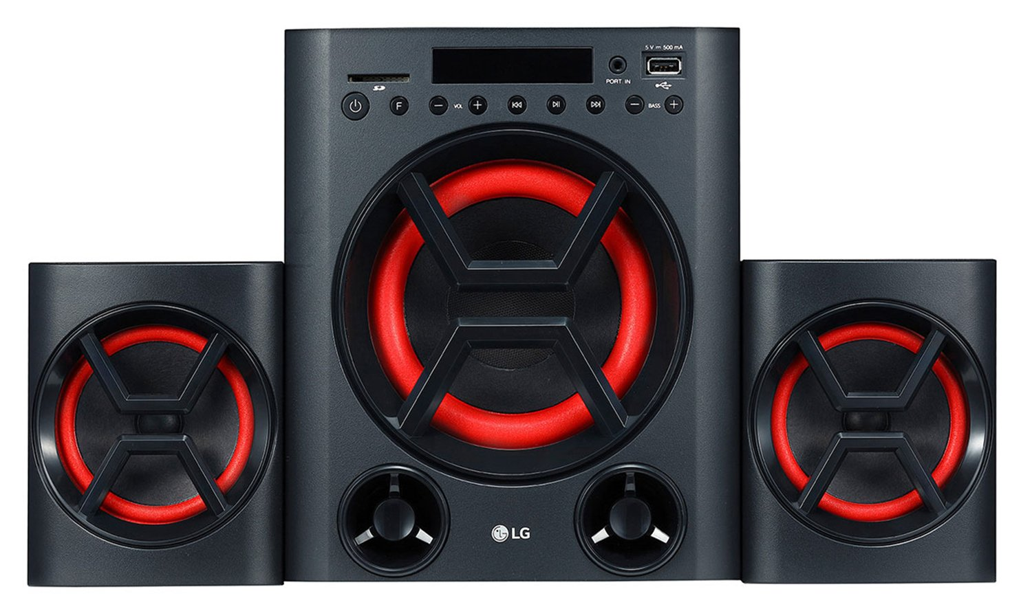 LG LK72B Bluetooth Mini Audio System