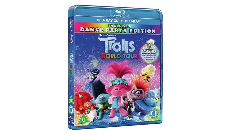 Trolls World Tour Blu-ray