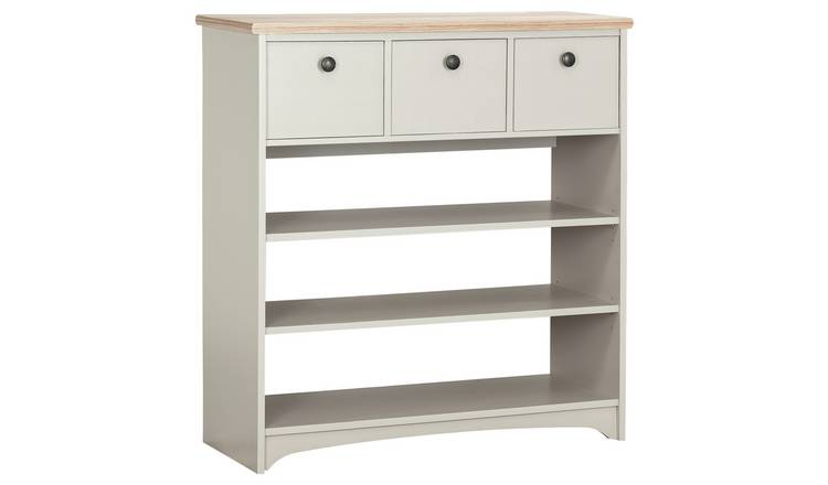 Argos Home Baltimore Hall Console Table - Two Tone