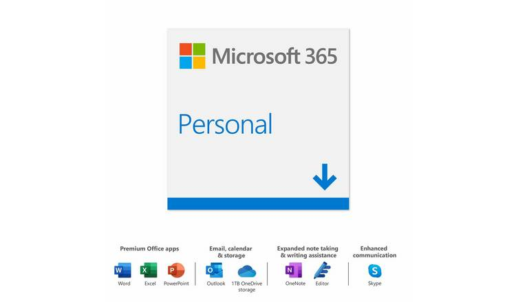 Microsoft 365 Personal 1 Year 1 User