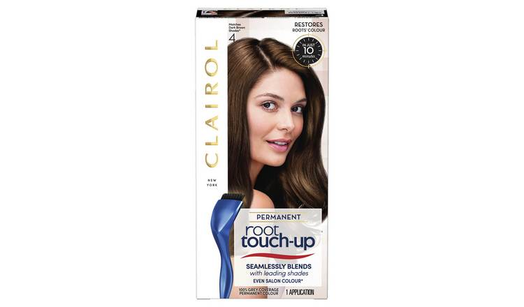 Clairol Root Touch-Up Hair Dye Dark Brown 4