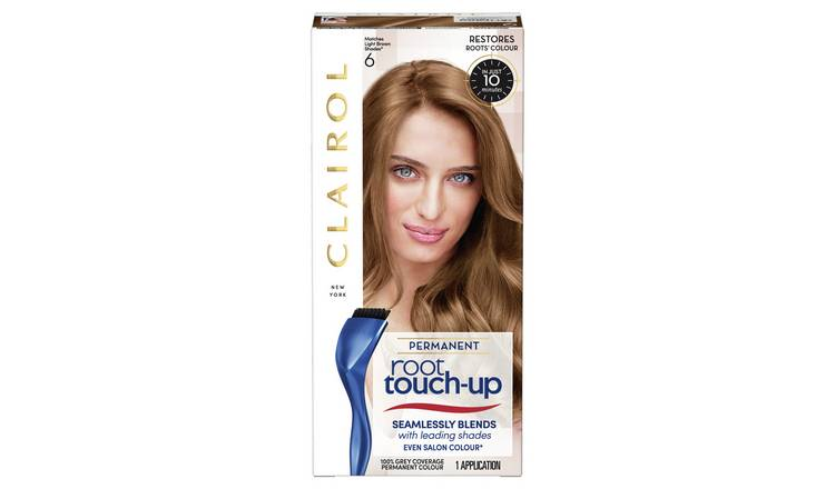 Clairol Root Touch-Up Hair Dye Light Brown 6