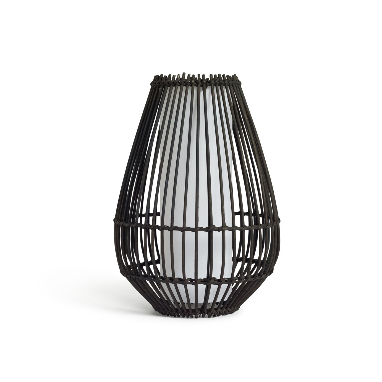 Argos Home Chocolate Rattan Table Lamp