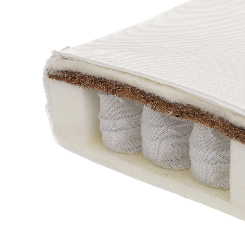 Obaby 120 x 60cm moisture management dual core cot mattress