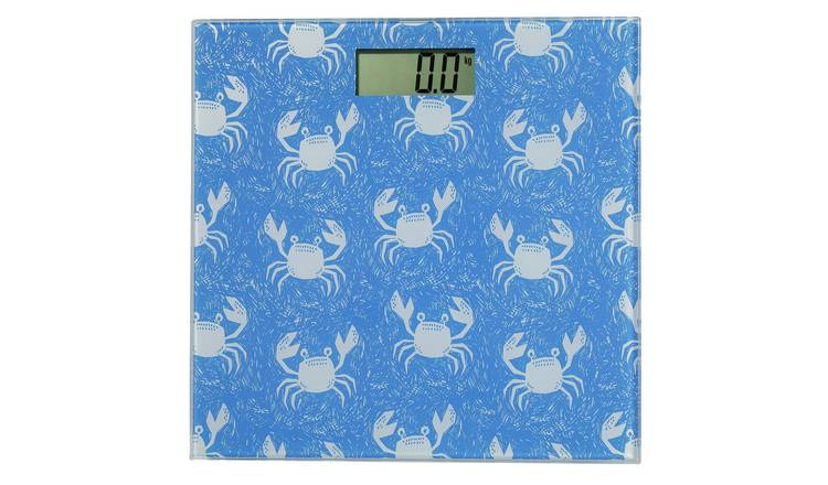 Argos Home Electronic Bathroom Scale - Crab